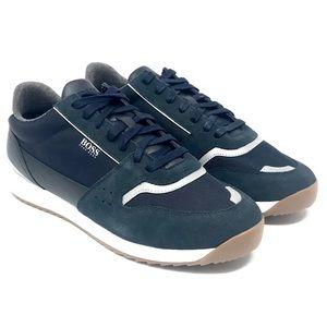 NIB Hugo Boss Blue Running-Style Sneakers